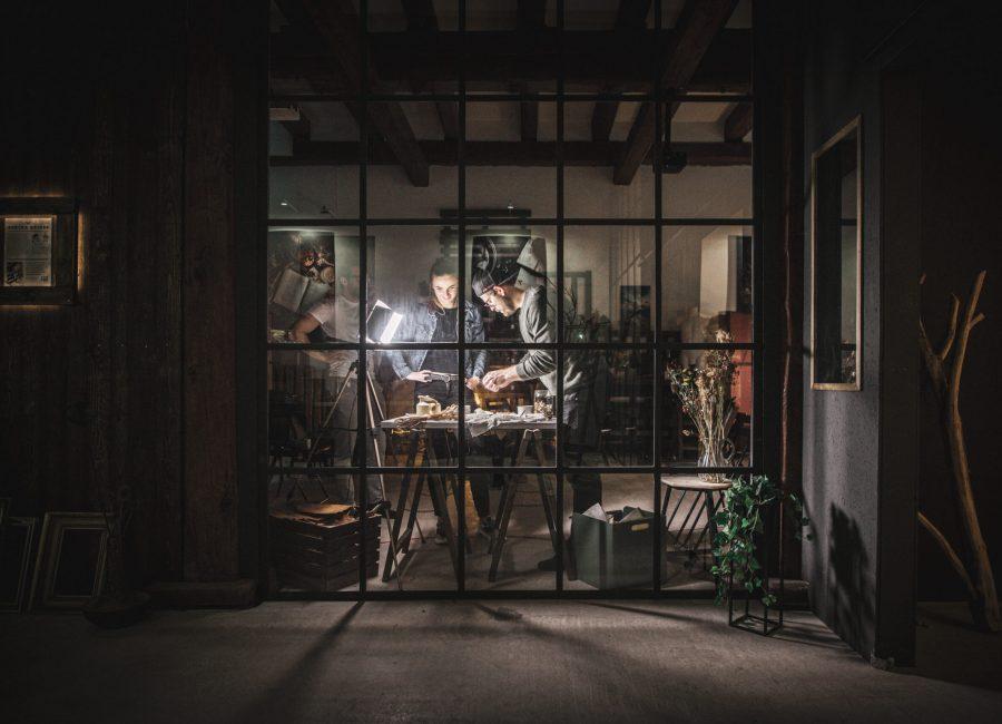 Industriální fotostudio v Brně